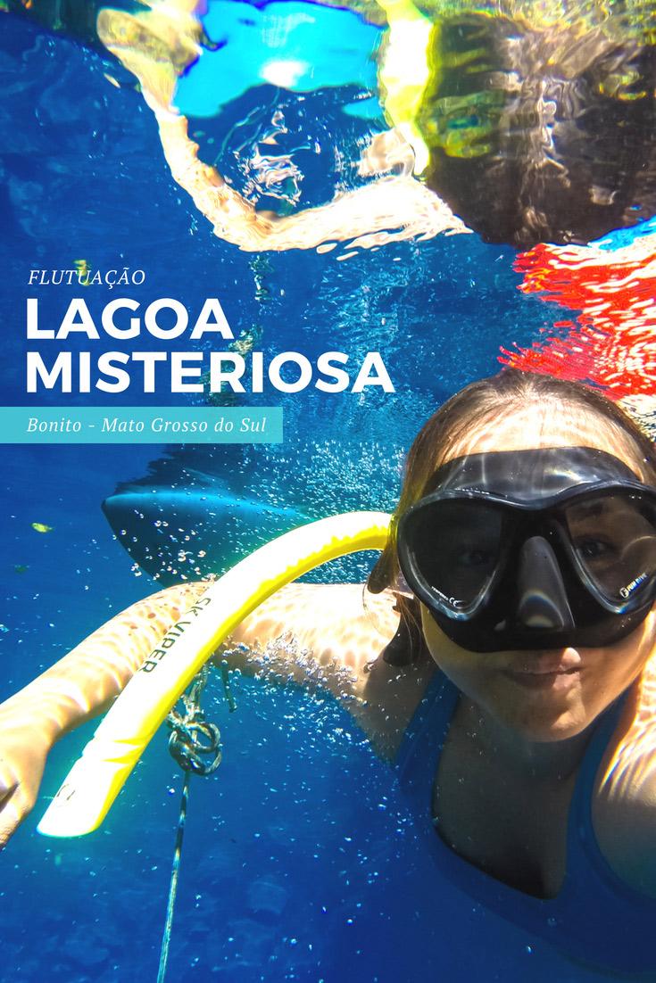 Lagoa Misteriosa - Flutuação na cavernas inundadas mais profundas do Brasil e considera a sétima mais profunda do país! Lá você também pode fazer Mergulho.
