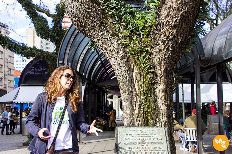 Free Walking Tour Curitiba - Carol Moreno, do blog Mochilão Trips