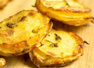 Batata Crocante com Parmesao