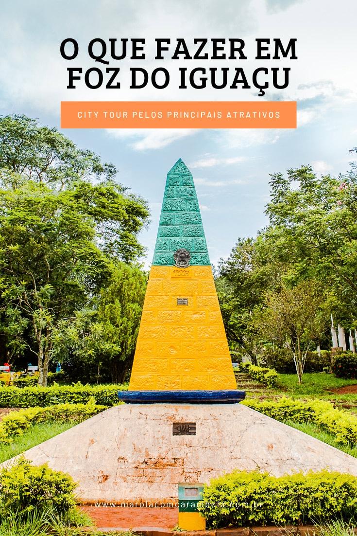 O que fazer em Foz do Iguaçu - Conheça 10 atrativos no passeio de City Tour. Destaque para o Templo Budista, Mesquita Muçulmana e Marco das 3 Fronteiras.