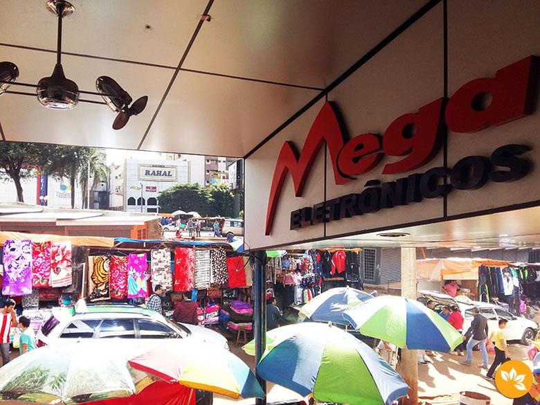 Onde fazer compras no Paraguai