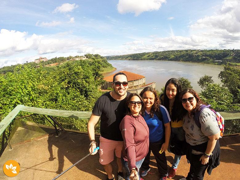 Marco das 3 Fronteiras - Foz do Iguaçu