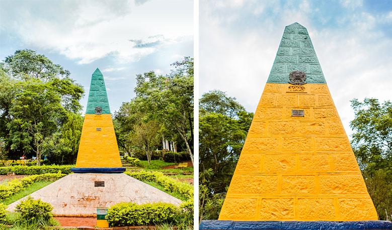 Obelisco - Marco das 3 Fronteiras - Foz do Iguaçu © ShutterStock