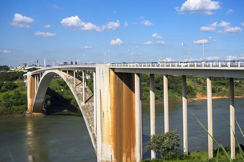 Compras no Paraguai - Ciudad Del Este - Ponte da Amizade