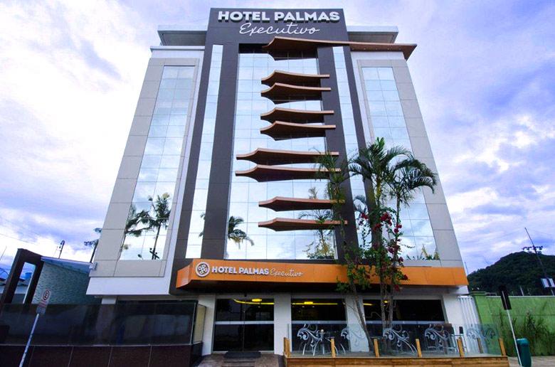 Hotéis em Balneário Camboriú - Hotel Palmas Executivo