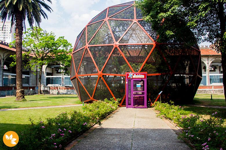 Museu Catavento Cultural em São Paulo - Borboletário