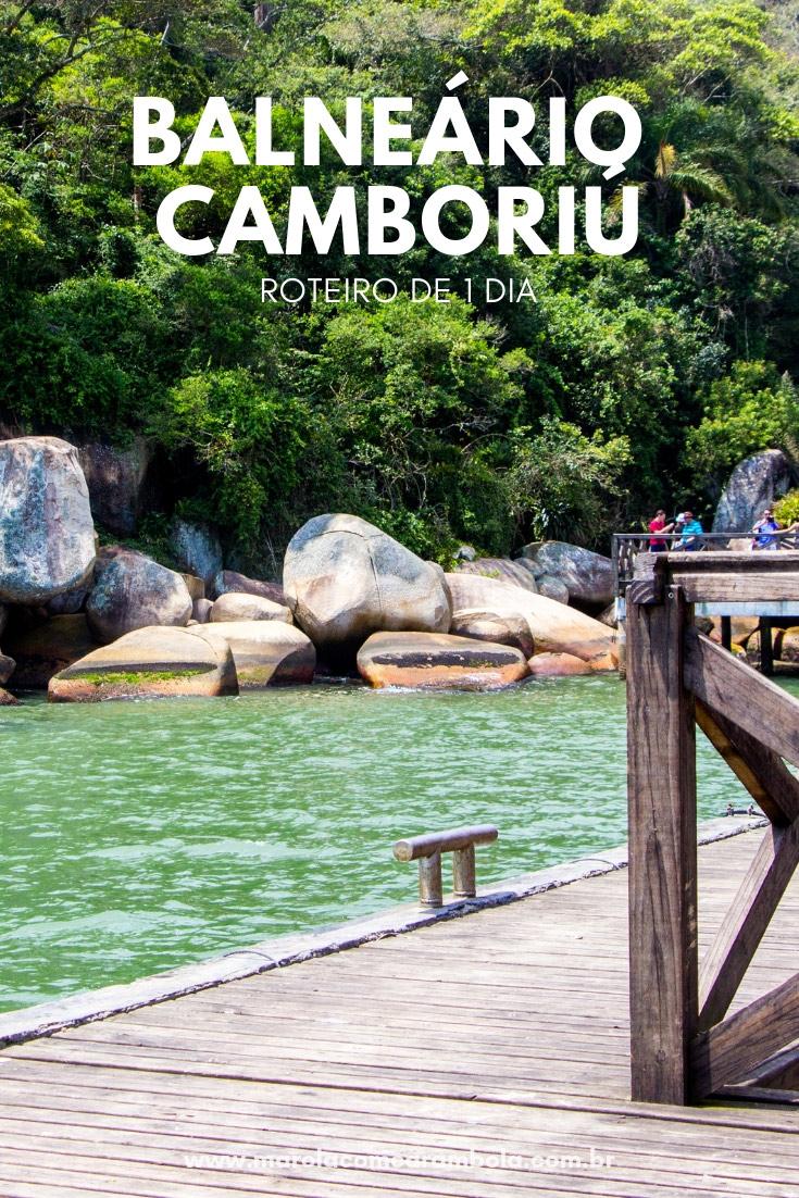 Balneário Camboriú - Confira nosso roteiro completo de um dia na cidade. Tem Passeio de Barco Pirata e uma tarde deliciosa na Praia Laranjeiras.