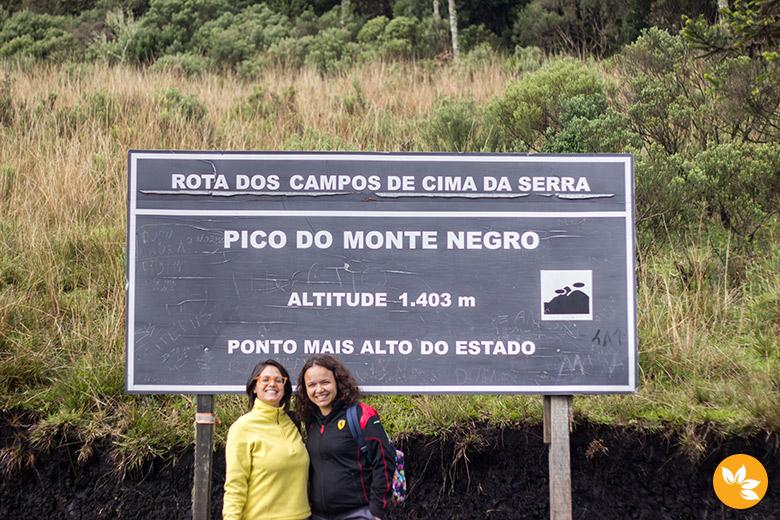 Pico do Monte Negro é o ponto mais alto do estado do Rio Grande do Sul