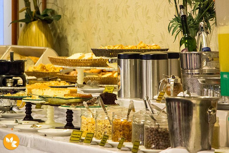 Café da Manhã do Hotel Bella Italia