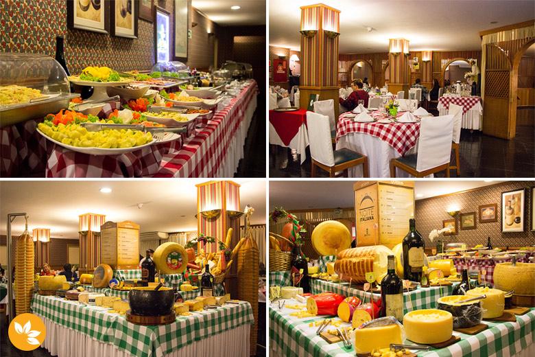 Restaurante Bella Tavola no Hotel Bella Italia