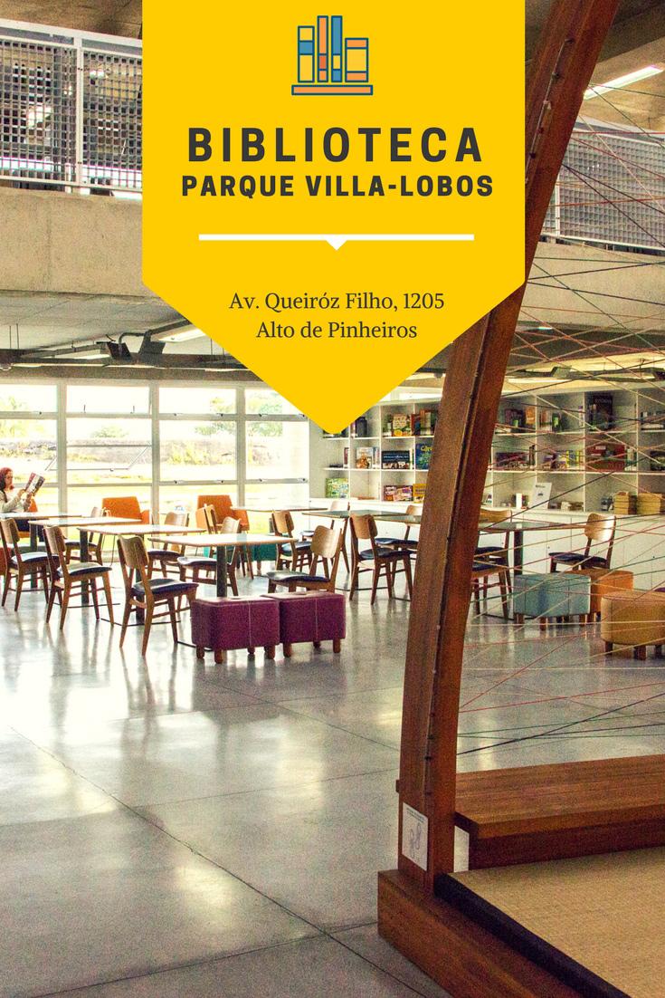A Biblioteca Parque Villa-Lobos é um espaço único para quem está em São Paulo ou visitando a cidade. É perfeito para ir sozinho, com amigos ou a família.