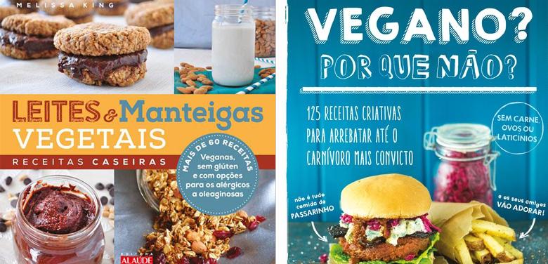 Dois livros de Receitas Veganas para te inspirar