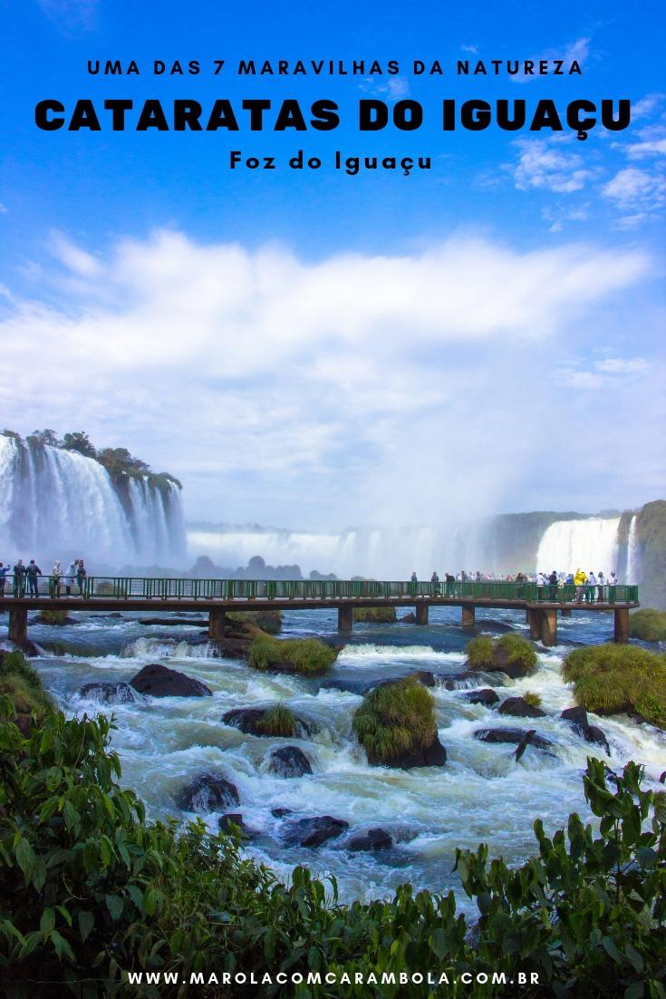 Cataratas do Iguaçu em Foz do Iguaçu - Conheça uma das 7 Maravilhas da Natureza! Um lugar indescritível que todo mundo precisa conhecer.