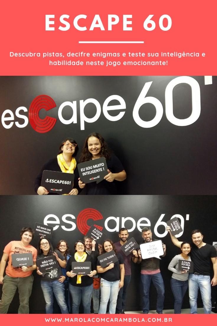 Escape 60 - Conhece a nova sala inspirada nos famosos reality shows de culinária. A Escapa Kitchen é um desafio na cozinha. Quem será que sair da sala vivo?