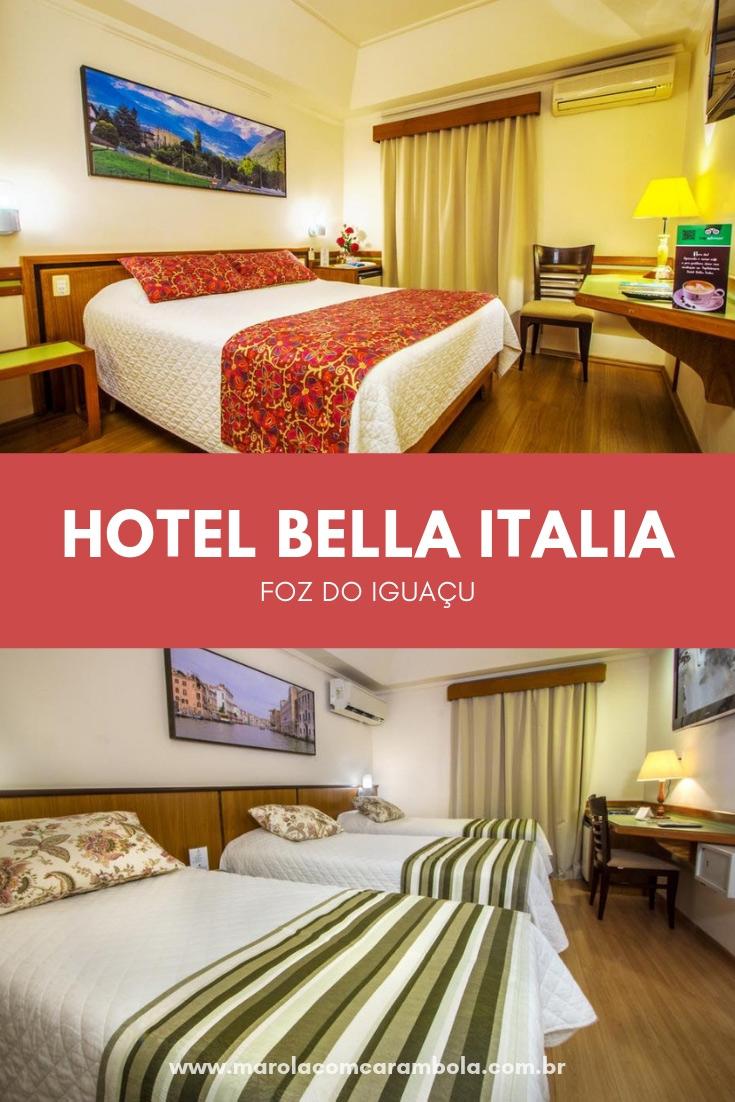 Hotel Bella Italia em Foz do Iguaçu - Uma ótima opção de hospedagem para sua viagem. Localizado no centro e com uma equipe da Loumar Turismo para te ajudar.