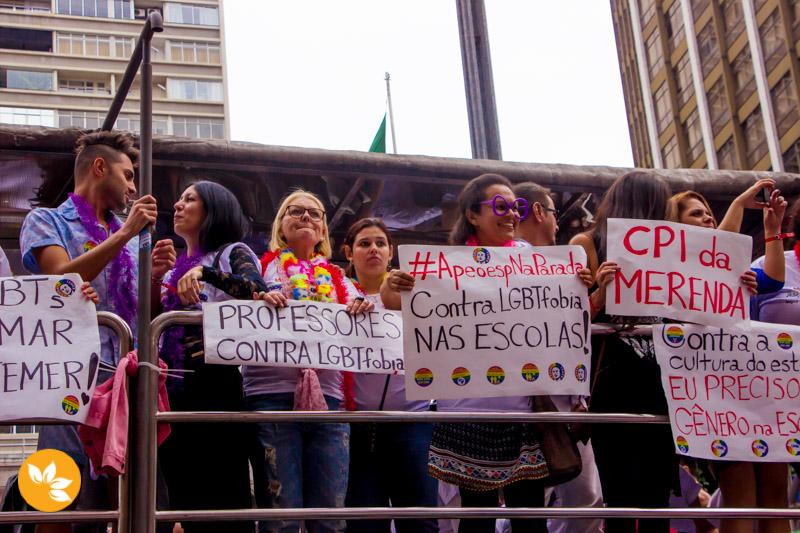 Professores contra a LGBTfobia