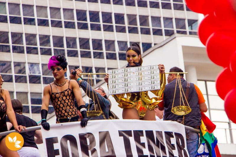 Parada LGBT agita São Paulo
