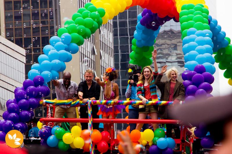 Parada LGBT agita São Paulo - Série Sense8