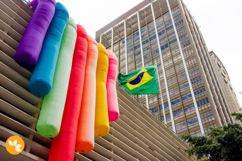 Conjunto nacional na Av. Paulista