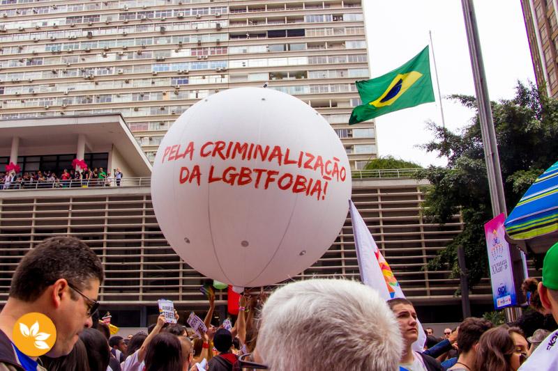 Pela criminalização da LGBTFOBIA