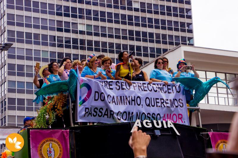 Parada LGBT agita São Paulo - Queremos amor