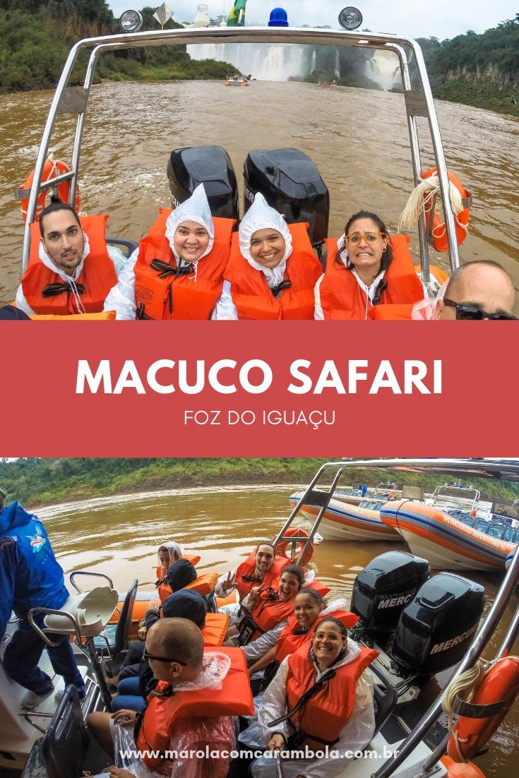 Macuco Safari, uma aventura imperdível nas Cataratas do Iguaçu. Um passeio que te leva até as grandes quedas através de um bote.