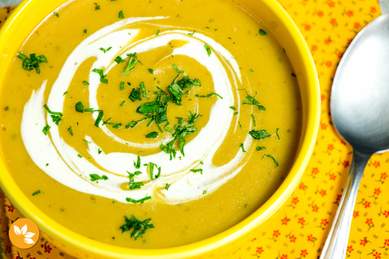Receitas de batatas - Sopa de Batata