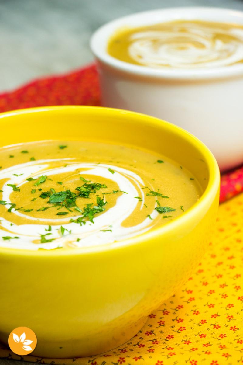 Receita de Sopa de Batata