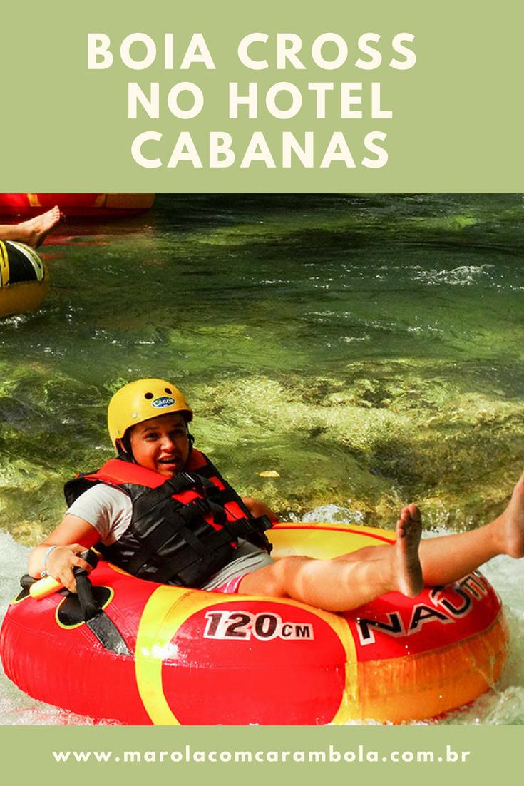 Boia Cross no Hotel Cabanas - Adrenalina e diversão garantida nas águas do Rio Formoso. Lá você tb pode fazer atividades como: flutuação e arvorismo.