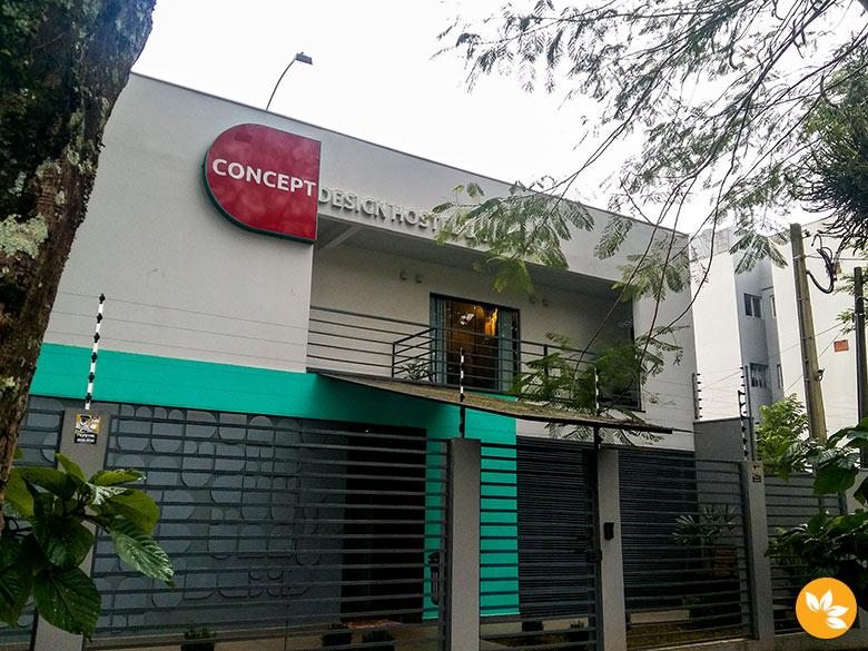 Concept Design Hostel em Foz do Iguaçu