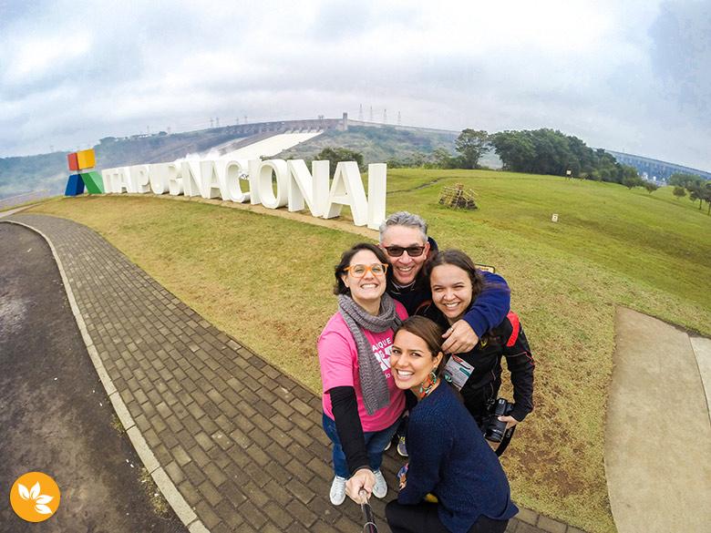 Blogueiras e Jornalistas na Itaipu Binacional