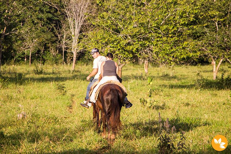 Viagem para Bonito - Passeio a Cavalo na Estância Mimosa