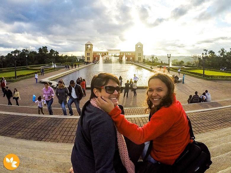 Amanda e Eloah no Parque Tanguá em Curitiba