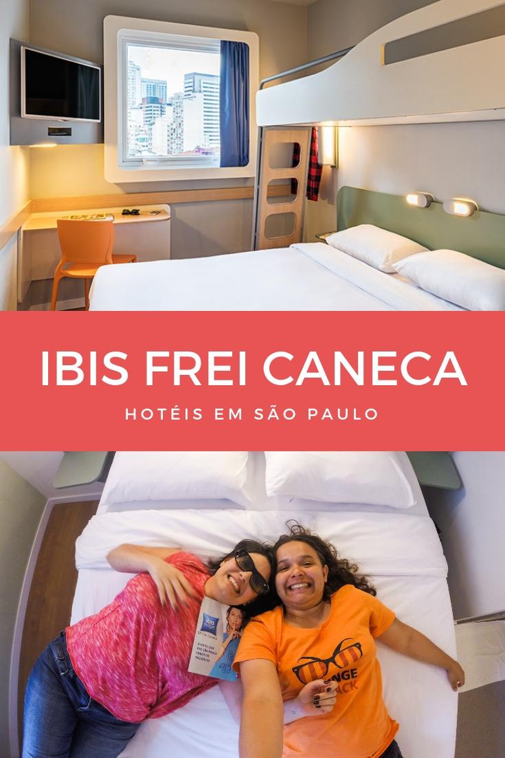 O Ibis Frei Caneca é uma excelente opção de hotel em São Paulo para quem quer economizar na hospedagem em ótima localização.