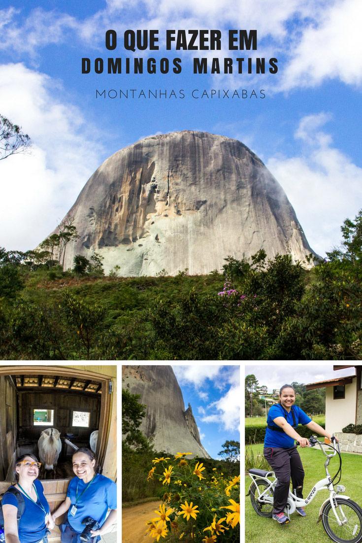 O que fazer em Domingos Martins - Parque Estadual da Pedra Azul, role de bike, cavalgada no Fjordland, Casa Cultural e Cervejaria Barba Ruiva.