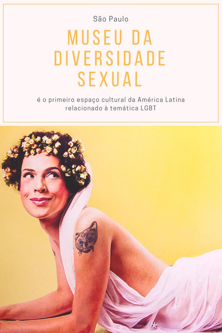 Museu da Diversidade Sexual em São Paulo
