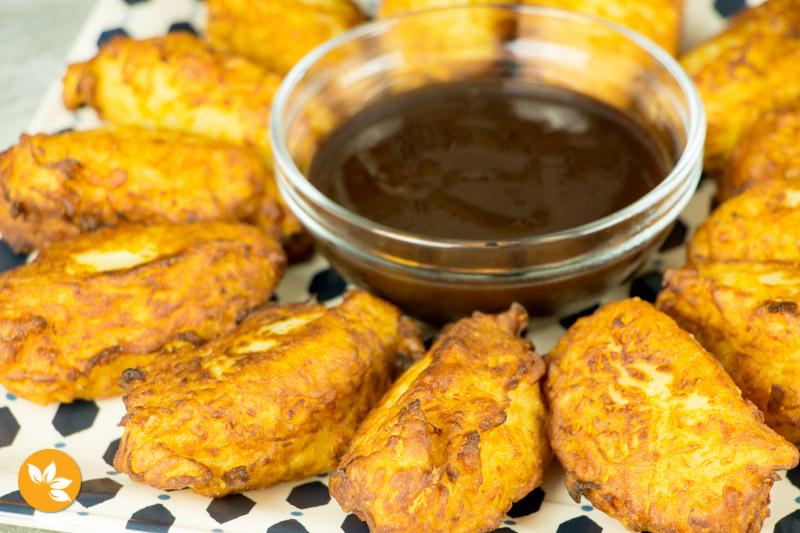 Receitas de batatas - Bolinho de batata com queijo