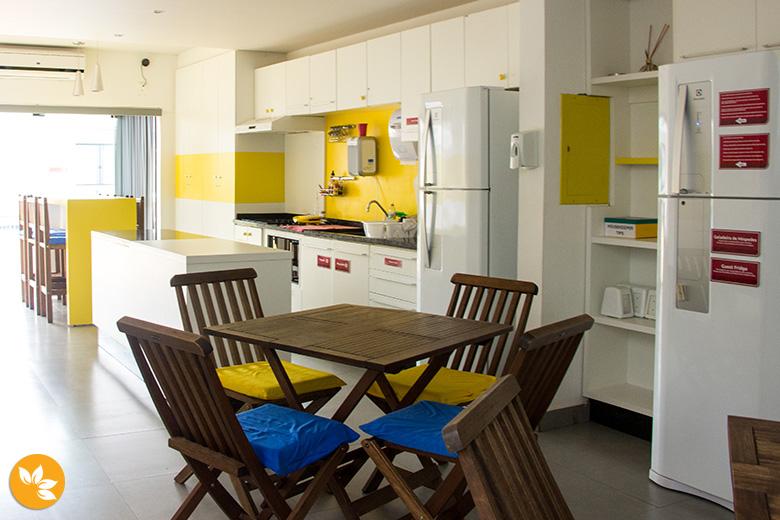 Cozinha - Hostel em Foz do Iguaçu