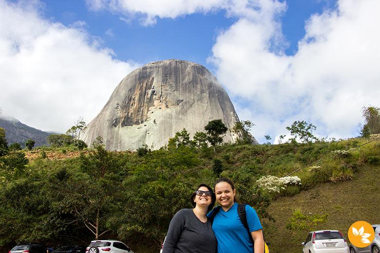Eloah e Amanda - Parque Estadual da Pedra Azul