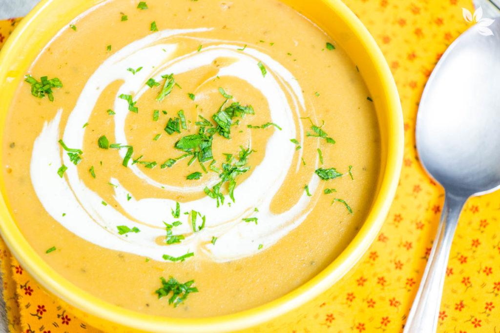 Receita de Sopa de Batata Cremosa