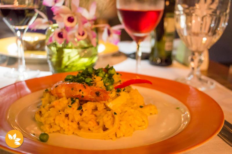 Restaurantes na Praia do Rosa - Refugio do Pescador
