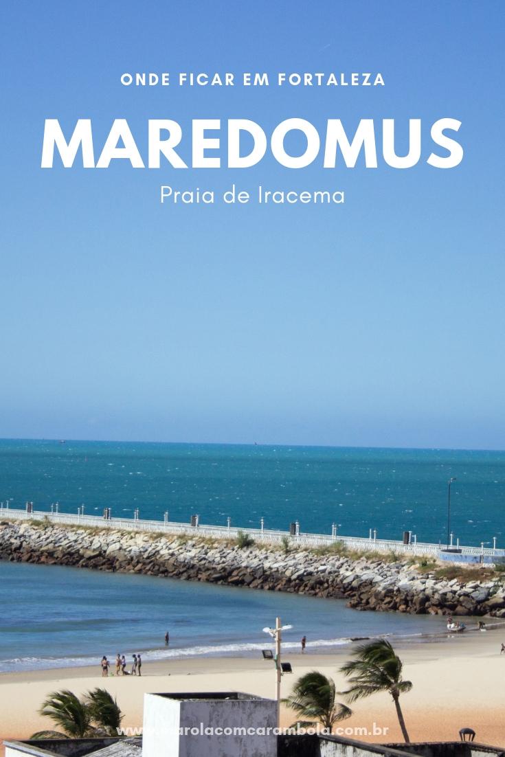 Maredomus Hotel - Localizado na Praia de Iracema, a menos de 5 minutos do mar e da Av. Beira Mar. Perto de ótimos restaurantes, bares e vida noturna.