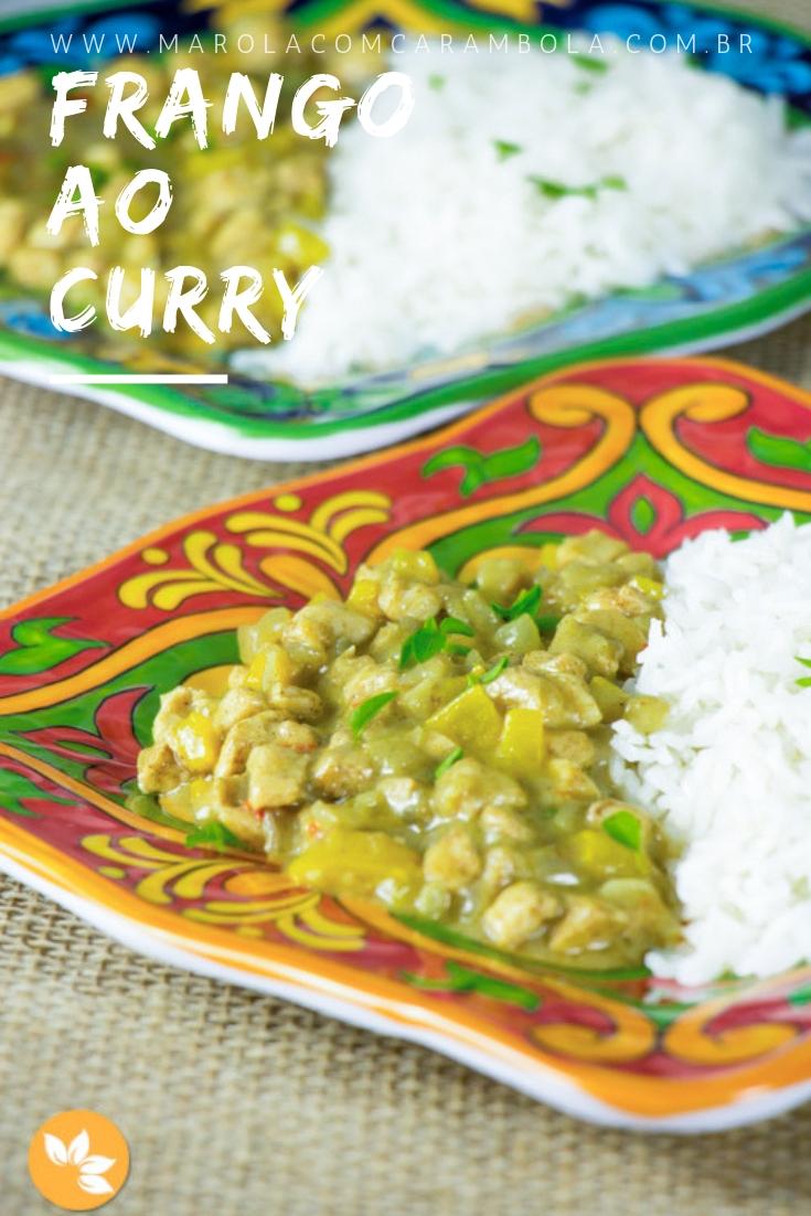 Receita fácil de Frango ao Curry