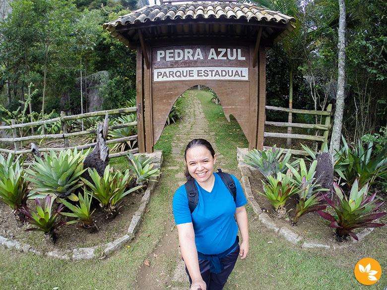 Eloah explorando o Parque