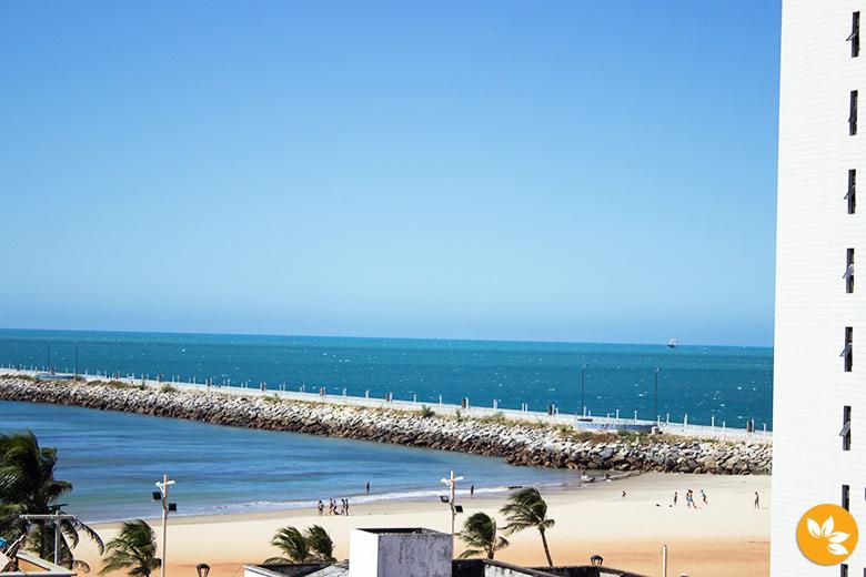 Vista do Maredomus Hotel em Fortaleza