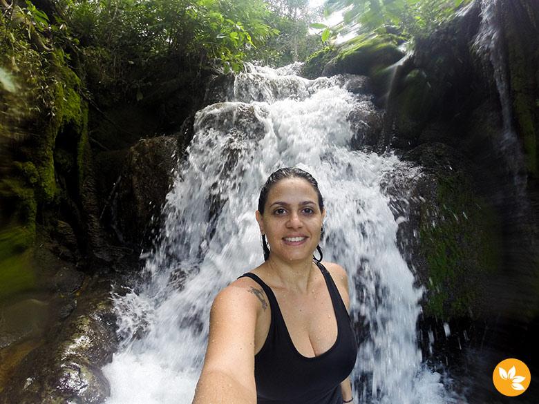 Cachoeira do Sai Andorinha - Estância Mimosa