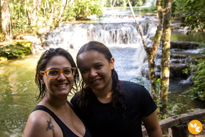 Eloah e Amanda na Estância Mimosa