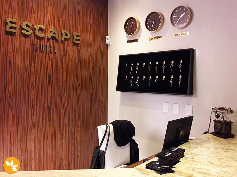 Escape Hotel em São Paulo