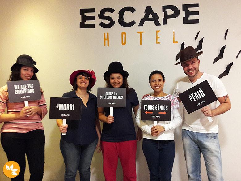 Escape Hotel - Sala A loira do banheiro