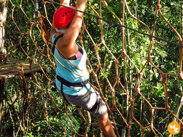Arvorismo Cabanas - Obstáculo da rede